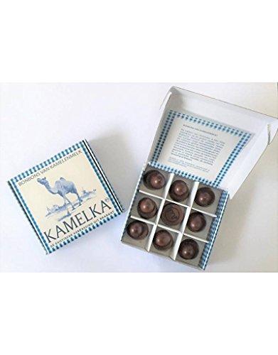 Preisvergleich Produktbild Kamelmilch Schokoladen Pralinen in Form eines Kamel Buckels,  geeignet für Menschen mit Kuhmilchallergie