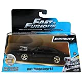 Pre-order Mar. 9 ship date: Fast Furious 7 Dom's Dodge Charger R/T 1:32 Scale by Jada