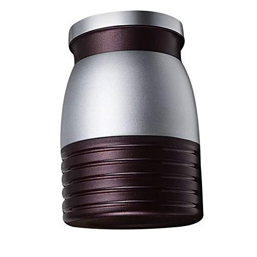 HCHLQ 280 Ml Edelstahl Thermoskanne Isolierflasche Lebensmittel Thermo Flasche Kaffee Tee Wasser Therm Tasse Tragbare Reisebecher Plum