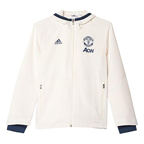 Adidas MUFC Pre Jkt Y Sudadera Manchester United FC, Niños, (Blatiz/Maruni / Azumin), 128