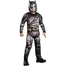 Batman Armour - Batman vs Superman amanecer de Justicia - Disfraz Infantil - Medio - 116cm - Edad 5-6