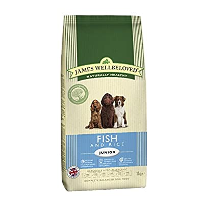 James Wellbeloved Junior Ocean White Fish & Rice Kibble
