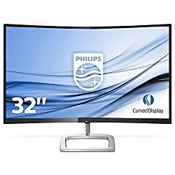 Philips 328E9FJAB/00 80 cm (31,5 Zoll) Curved Monitor (VGA, HDMI, DisplayPort, WQHD, 5ms Reaktionszeit, 2560 x 1440, 60Hz) schwarz