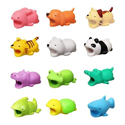 le Bite for iPhone Cable Cord Cute Animal Phone Accessory Protects Cable Accessory ()