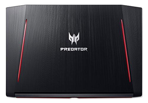 Acer Predator Helios 300 PH317 51 52NJ 4394 cm 173 Zoll comprehensive HD IPS matt Gaming Notebook Intel core i5 7300HQ 8GB RAM 1TB HDD GeForce GTX 1050Ti 4GB VRAM Win 10 schwarz Notebooks