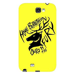 EYP Game Of Thrones GOT House Baratheon Back Cover Case for Samsung Note 2