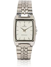 Horo Silver Plated Wrist Watch Water Resistant Analog(3.6x2.7cm)