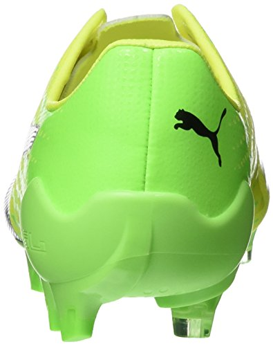 Puma Evospeed 17 Sl S Fg, Scarpe da Calcio Uomo Giallo (Safety Yellow-puma Black-green Gecko 01)