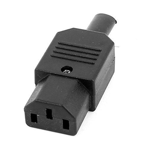 sourcingmap® AC 250V 10A Strom IEC320 C15 Buchse Kabel Verbindung Steckdose Adapter (Draht-ac-steckdose)