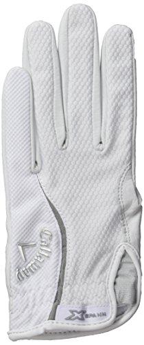 Callaway Women's X-Spann Damen Golf Handschuh 2014 - weiss, linke Hand (für Rechtshänder), S (Womens Spann)