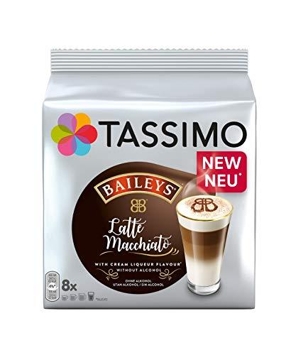 TASSIMO Latte Macchiato Baileys, 5er Pack Kaffeespezialität T Discs (5 x 8 Getränke)
