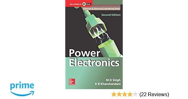 Power Electronics Book By M.d.singh For