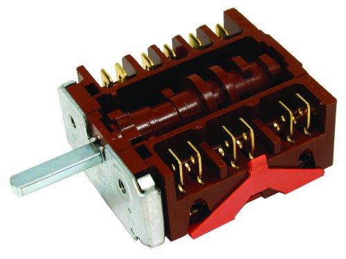 En Inglés eléctrico EE50DC de horno de bajo consumo/regulador de 6 posición...