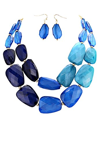 rosemarie-collections-womens-ombre-polished-resin-statement-necklace-earring-set-blue