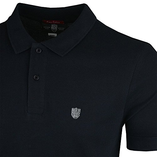 883 Police Trapper 4748 Polo Top Navy