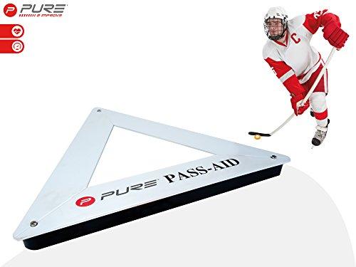 Pure 2Improve (Eis-)Hockey Passtrainer, abnehmbaren Spikes, 65x65x65cm -