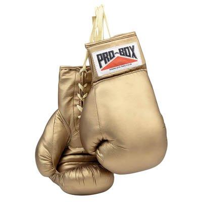 Pro-Box oro autógrafo-Guantes boxeo filmcell