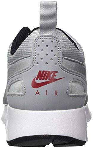 Nike Air Max Vision Prm, Scarpe da Corsa Uomo Grigio (Wolf Grey/Mtlc Silver/Varsity Red/Black)