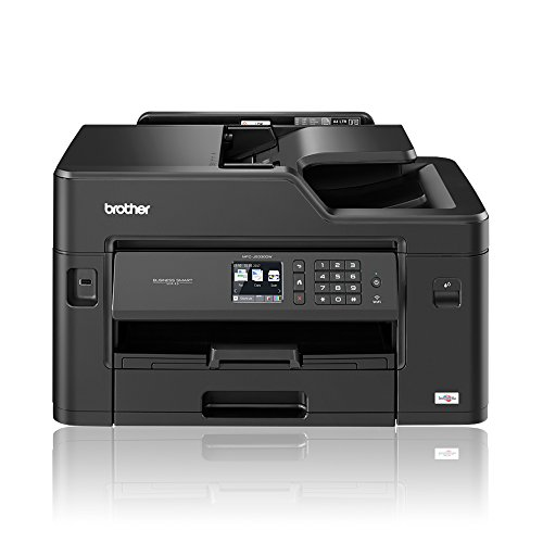 Brother MFC-J5330DW Colour Inkjet Printer | Wireless, PC Connected & Network | Print, Copy, Scan, Fax & 2 Sided Printing | A4 with A3 print capability