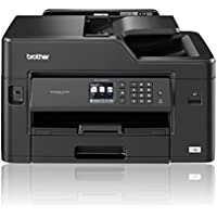 Brother MFC-J5330DW A4 with A3 Print Capability, Colour Inkjet Printer, Wireless, PC Connected and Network, Print, Copy, Scan, Fax and 2 Sided Printing