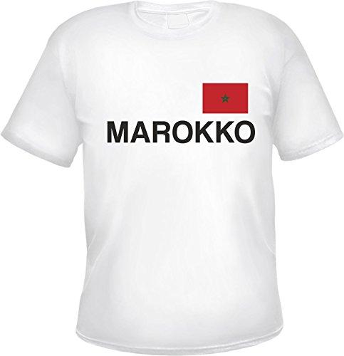 MAROKKO T-Shirt Weiß