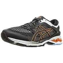 ASICS Men's Gel-Kayano 26 Running Shoe, Black/Polar Shade, 5.5 UK