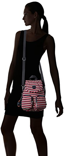 Kipling - Firefly Up, Zaini Donna Multicolore (Sugar Stripes)