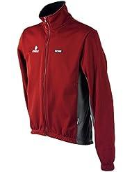 Nalini chaqueta de ciclismo hombre diamante rojo
