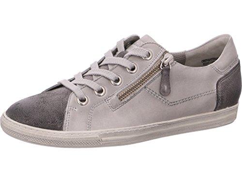 Paul Green 4128-097, Sneaker Donna Grau