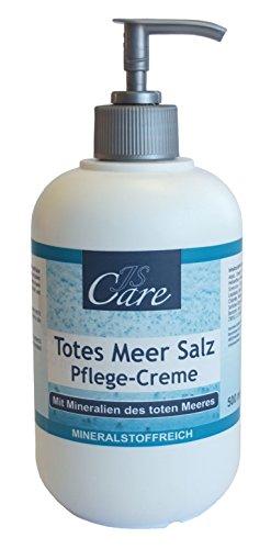 Totes Meer Salz | Pflegecreme | 500 ml | im Spender | Hautpflege | Schutz | Salbe