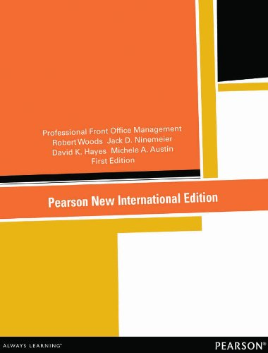 Professional Front Office Management: Pearson New International Edition