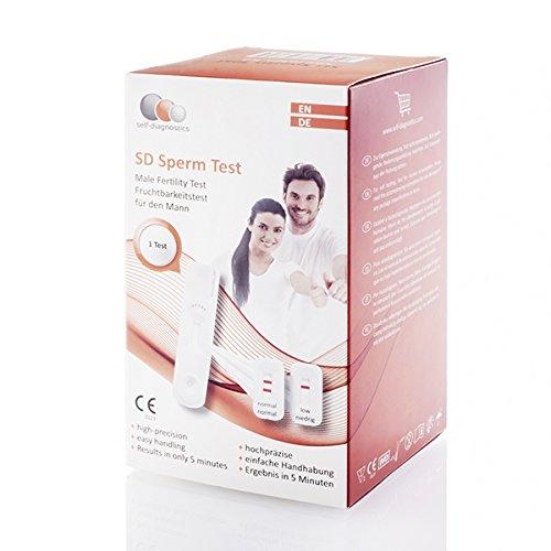 SD Sperm Test - Fruchtbarkeitstest (Mann)
