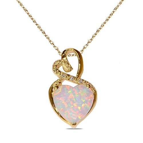 diamond-accent-pendant-with-created-opal-in-10k-yellow-gold-by-nissoni-jewelry