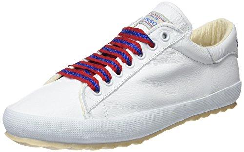 El Ganso M Low Top Cinta Lurex, Zapatillas de Deporte para Mujer, Blanco (Blanco Único), 39 EU