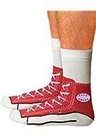 Sneaker Socken - Silly Sock - rot