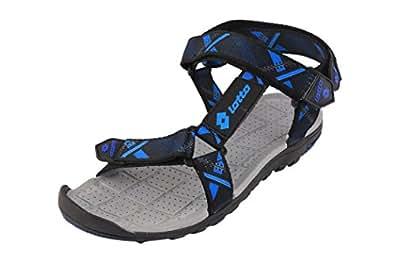Lotto Men's Sandal Zack Black Blue GT7118 UK/IN 10