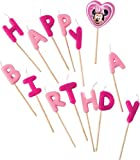 Minnie-Mouse-Bougies-danniversaire-sur-pics-Inscription-Happy-Birthday