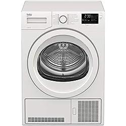 Beko DCY824 Autonome Charge avant 8kg B Blanc sèche-linge - Sèche-linge (Autonome, Charge avant, Condensation, Blanc, boutons, Rotatif, 102 L)