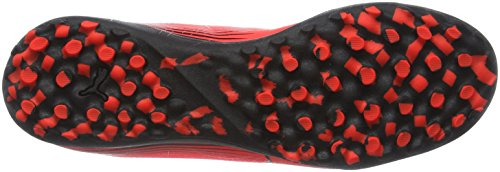 Puma Evostreet 1 F6, Chaussures de Football Entrainement Mixte Adulte Rouge (Red/Wht/Blk)