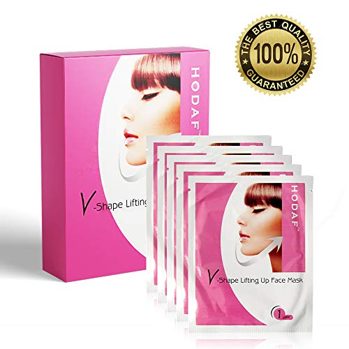 V-Chin Mask - Anti-Age Anti-Aging Patch per il viso - Double Chin Fat  Reducer - V-Line Firming Wrinkle Moisturizing Moisturizing Mask - Maschera  per