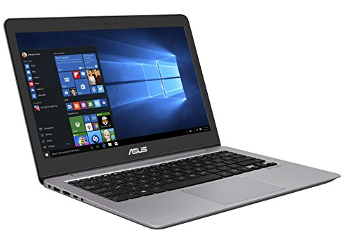 Asus Zenbook UX310UA-FC081T 33,7 cm (13,3 Zoll FHD matt) Laptop (Intel Core i5-6200U, 8GB RAM, 128GB SSD, HD Graphics, Win 10) grau