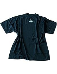 T-Shirt mit Druck Allied Star schwarz
