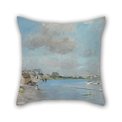 beautifulseason Oil Painting Hawthorne, Charles Webster - Sketch, Hyannisport Pillow Cases 18 X 18 Inches/45 by 45 cm Gift or Decor for Indoor,bf,Father,Shop,Dinning Room,Dance Room - Both Sides