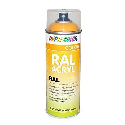 Duplicolor 710278 Spray Acrylique RAL 9007, Aluminium Gris Satin, 400 ml