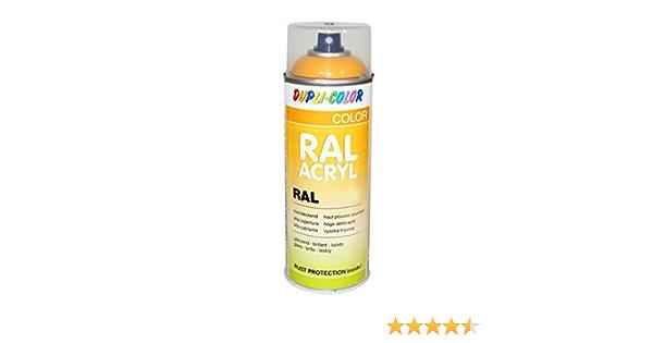 Dupli Color 710094 Acryl Spray 400 Ml Ral 1016 Schwefelgelb Glanz Auto