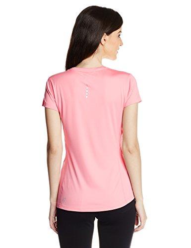 PUMA t-shirt pour femme cool t-shirt manches courtes w Rose - Salmon Rose