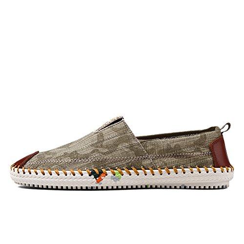 Chaussures printemps et l'été des hommes/chaussures coréenne/Les souliers/Les paresseux de ventilation homme Chaussures/Chaussures en toile A
