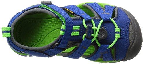 Keen Seacamp Ii Cnx, Scarpe Primi Passi Unisex – Bimbi 0-24 Blu (True Blue/Jasmine Green)