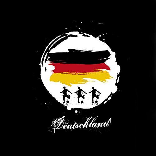 Apple iPhone 4 Case Skin Sticker aus Vinyl-Folie Aufkleber deutschland fussball fußball DesignSkins® glänzend