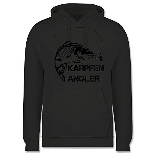 Shirtracer Angeln - Karpfen Angler - XS - Anthrazit - JH001 - Herren Hoodie und Kapuzenpullover für Männer